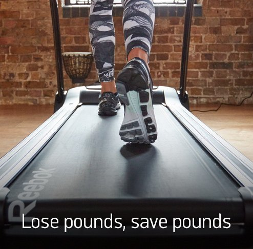 Lose pounds, save pounds.