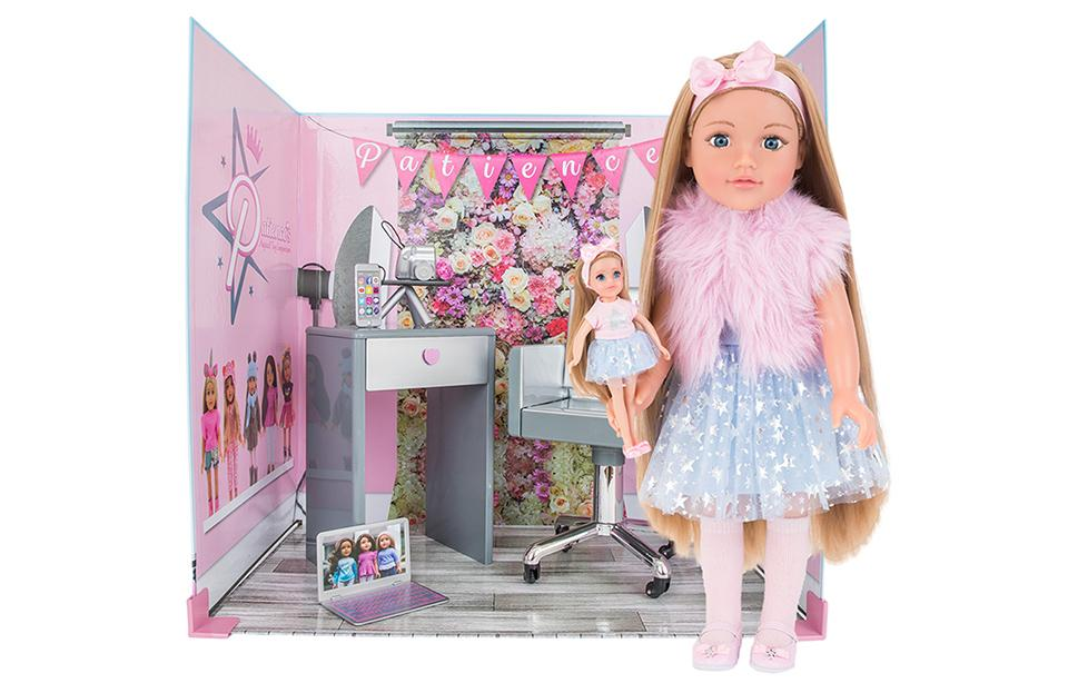 Pretty Doll Collections White Unicorn Outfit