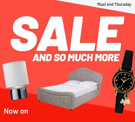 Sale and so much more. Must end Thursday.