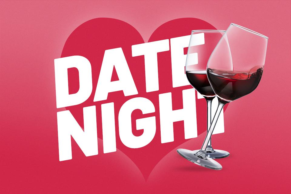 Create a date night at home.