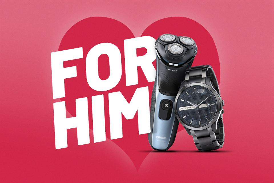 Valentine's gifts for him.
