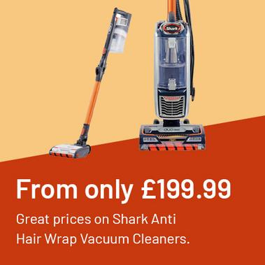 From only £199.99 Great prices on Shark Anti Hair Wrap Vacuum Cleaners.