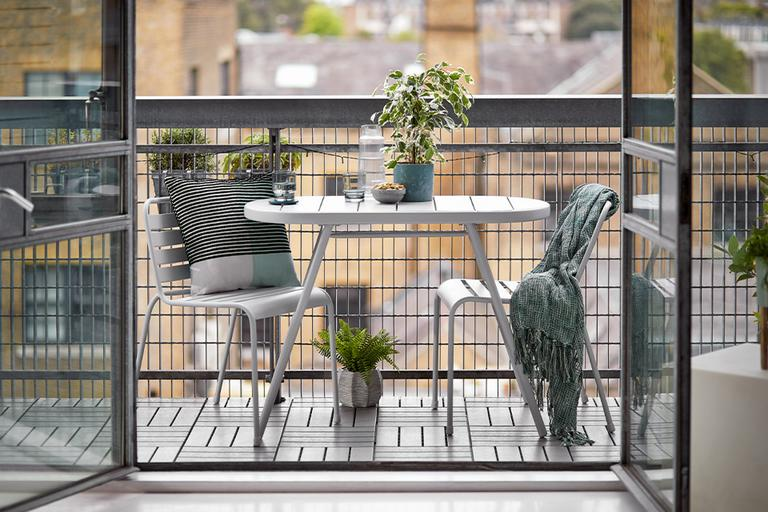 Got a balcony? Three ways to use it.