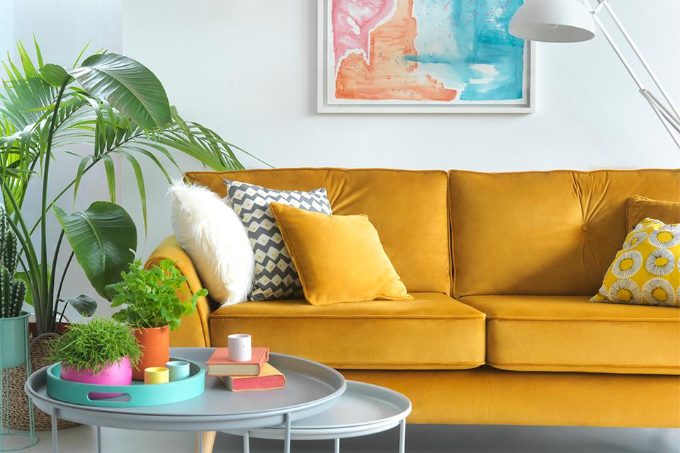 6 ways to add colour to your home.