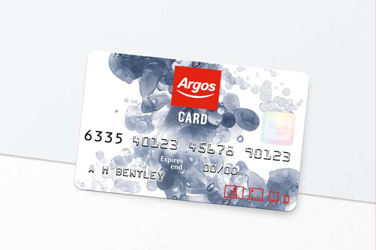 Apply for an Argos Card