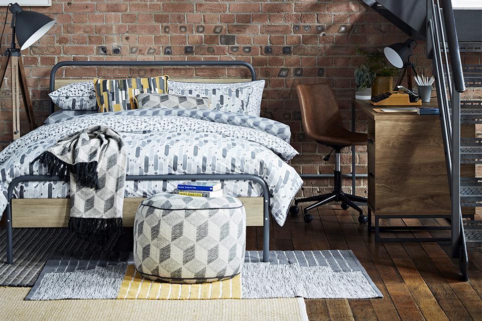 Get The Industrial Look Modern Home Decor Argos
