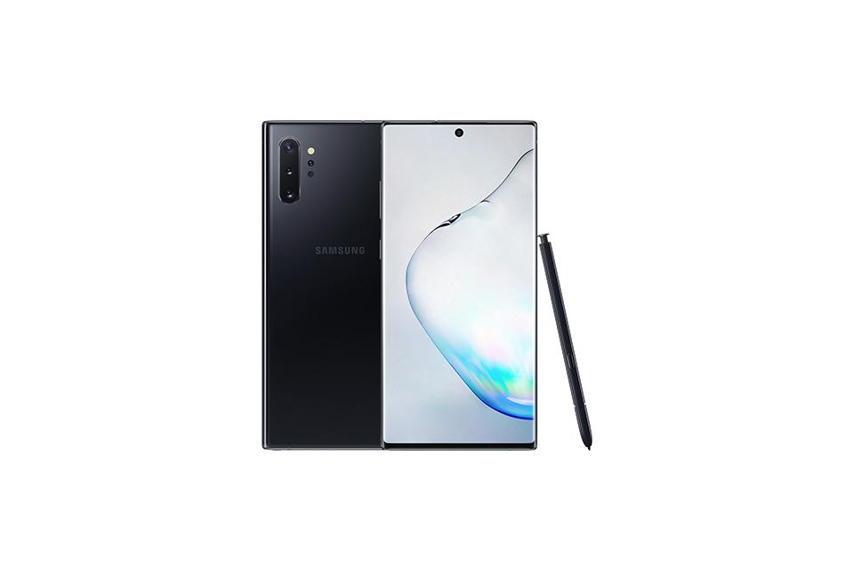 Samsung Galaxy Note 10+. A powerfully immersive experience in your hand.