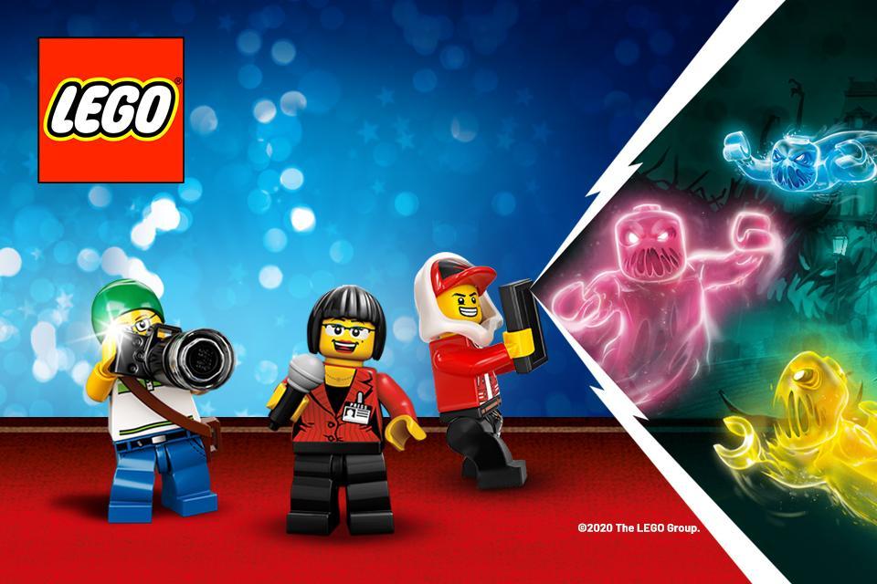 Image of lego figures posing