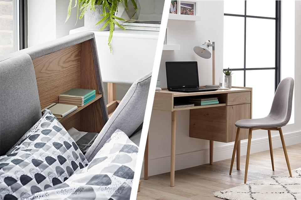 4 reasons Scandi style works in small spaces.