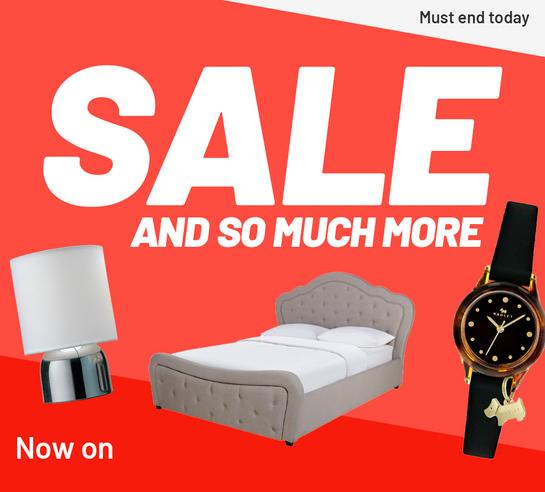 Sale and so much more. Must end tomorrow.