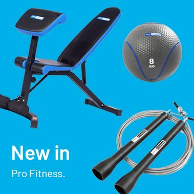 New in Pro Fitness.