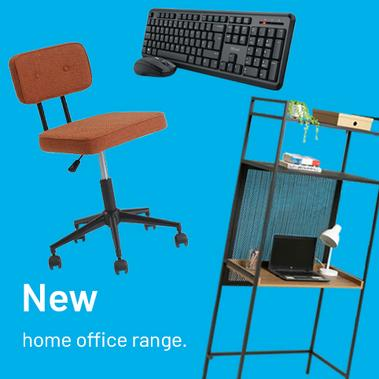 New home office range.