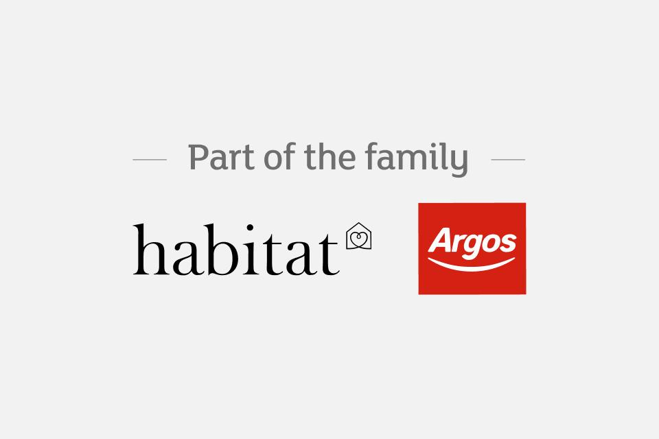 Habitat and Argos logos.