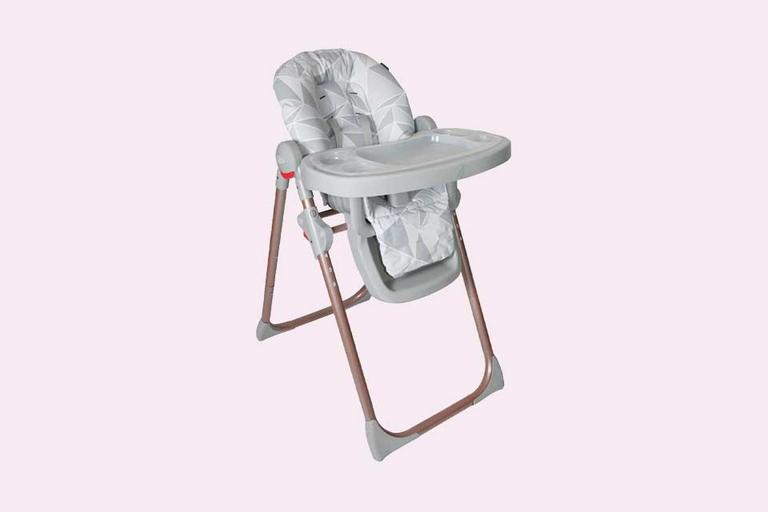 My Babiie Highchair - Grey Geometric.