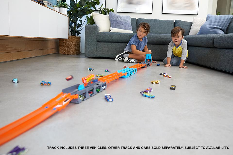 Hot Wheels track sets and playsets