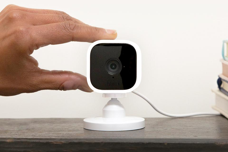 Blink outdoor and indoor cameras.