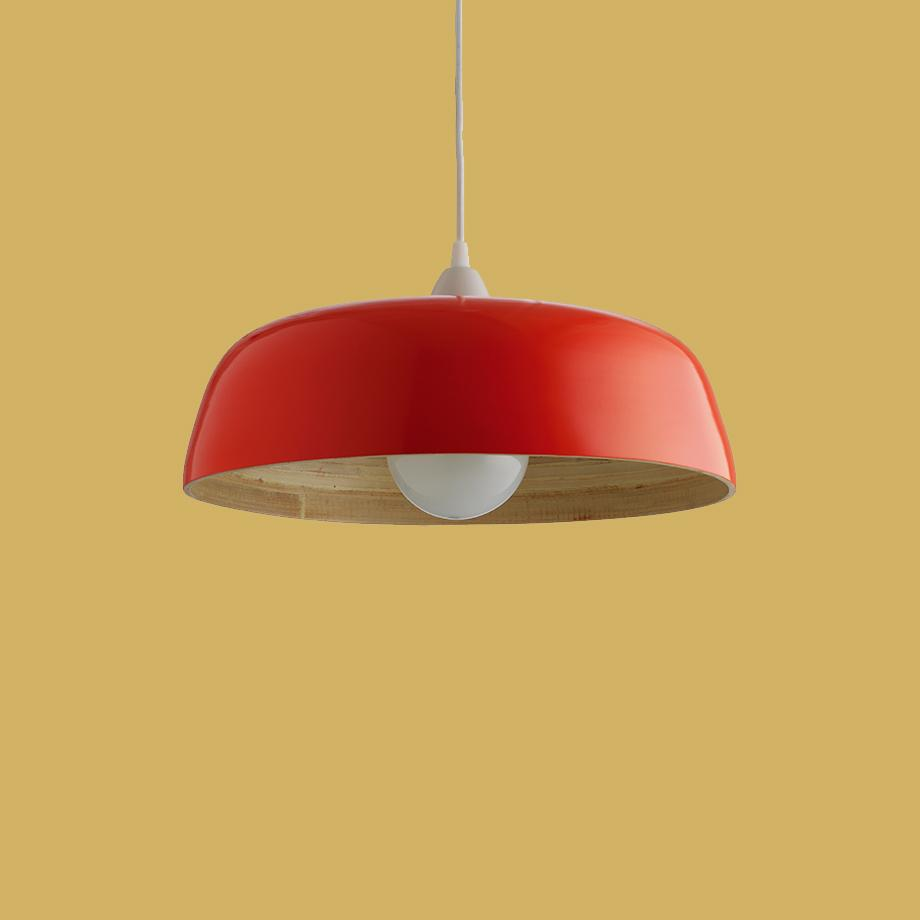 Mid century modern look - light fitting.