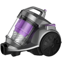 Cylinder vacuum cleaners.