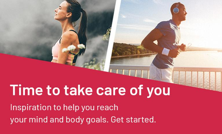 Time to take care of you. Inspiration to help you reach your mind and body goals.