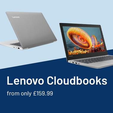 Lenovo S130 Cloudbooks from only £159.99.