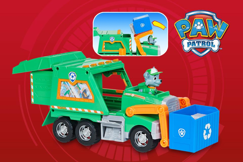 PAW Patrol toys and playsets