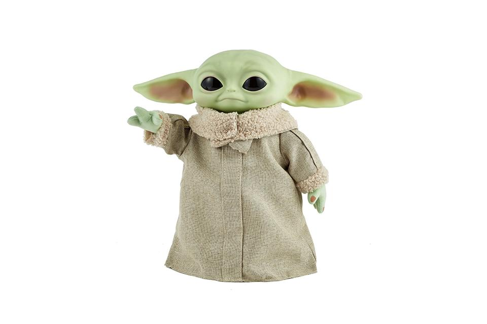 Star Wars Mandalorian The Child Baby Yoda Real Moves Plush.