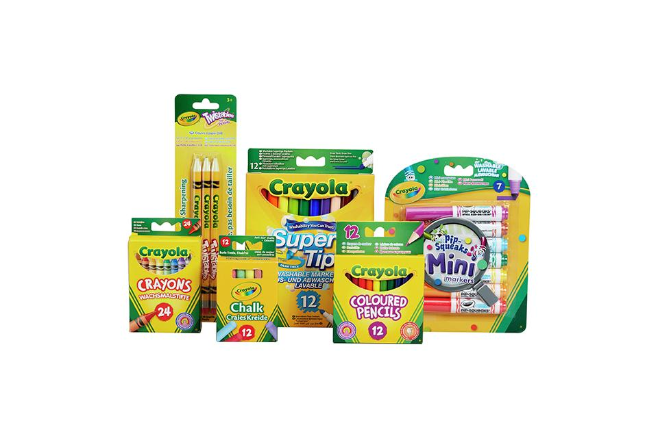 Crayola 70 Piece Stationery Set.