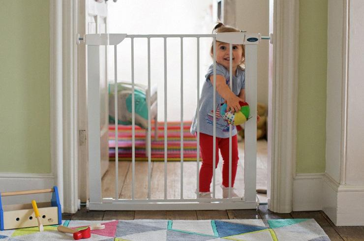 Baby proofing your home.