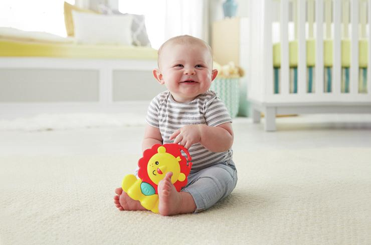 Baby play. Tots, toys and tummy time. Learning through play has never been easier.