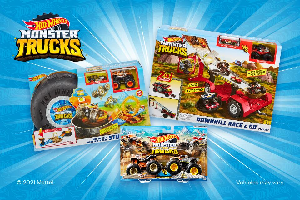 Win the ultimate Hot Wheels Monster Truck toy bundle!