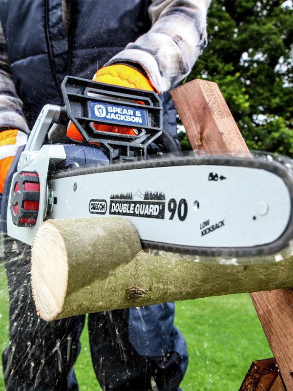 Choose the right chainsaw for the job.