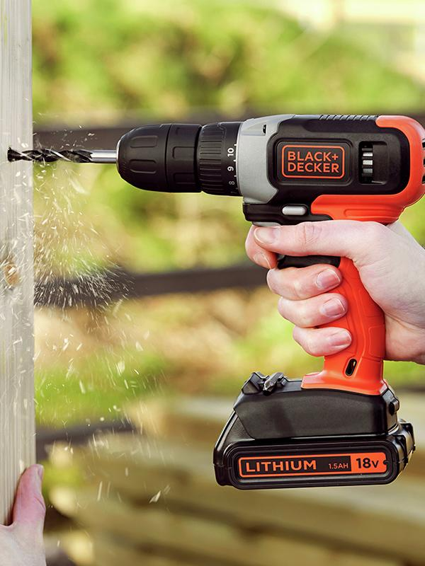 Find the best drill for the job.