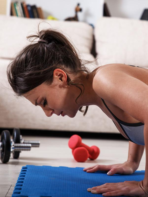 Tone at home with our home workouts guide.