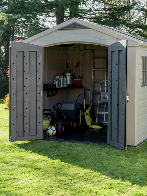 Find the right storage option for your garden.