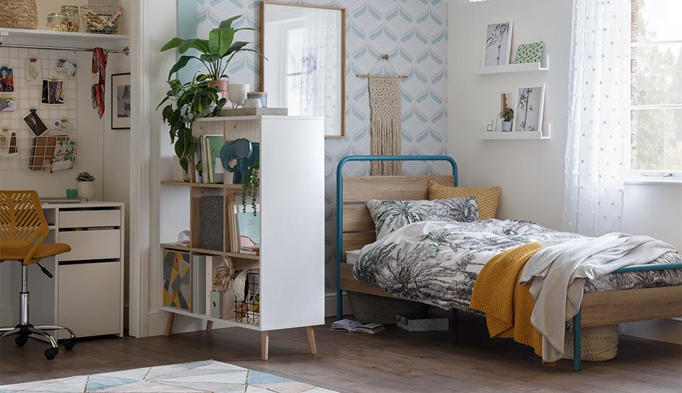 Shop for teenage bedrooms.