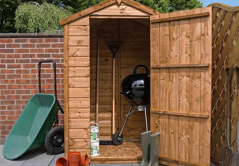 Shop for wooden sheds.