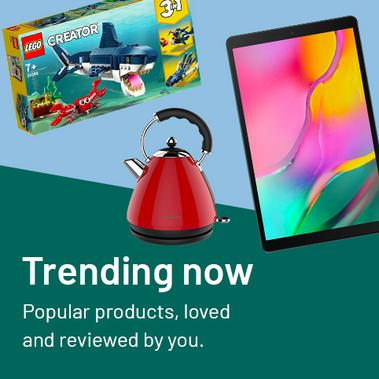 Trending now. Popular products, loved and reviewed by you.
