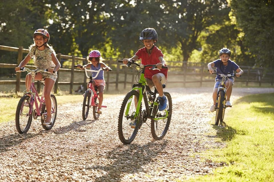 How to buy kids' bikes online.