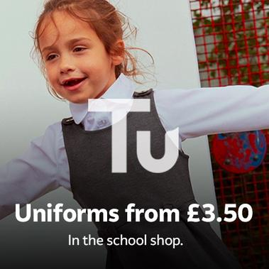Uniforms from £3.50.