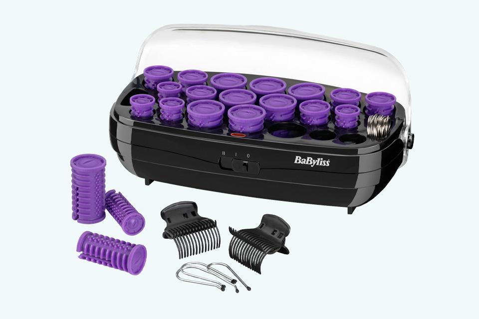 The BaByliss Thermo Ceramic Heated Rollers.