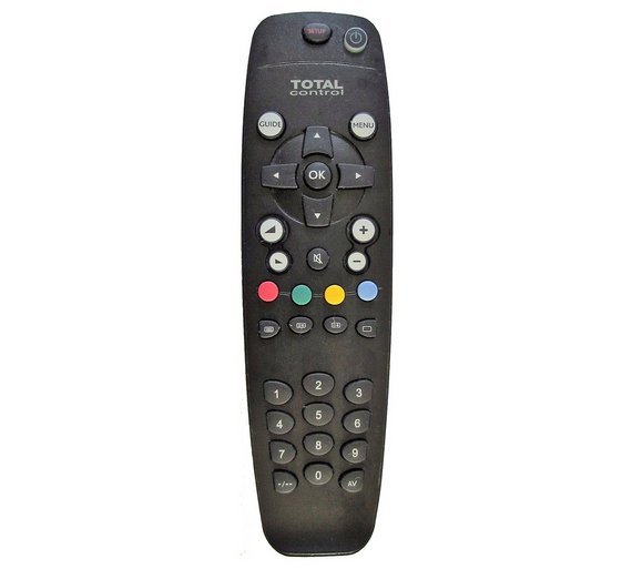 Buy Total Control Universal Remote Control Tv Remote Controls Argos