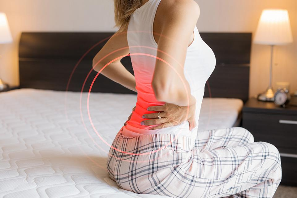 Suffer with back pain?