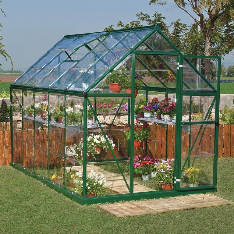 Large greenhouse.