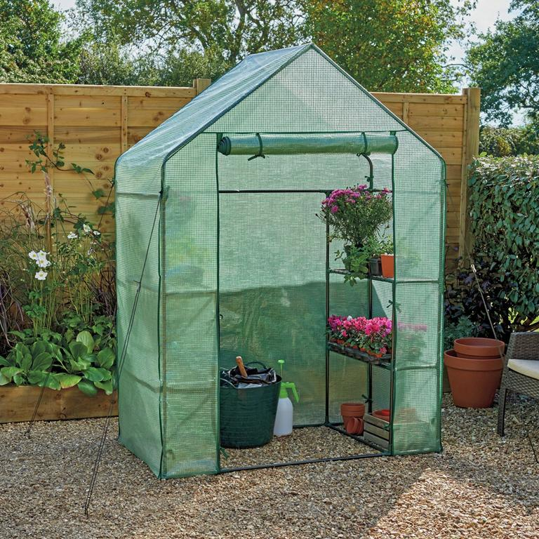 Small greenhouse.