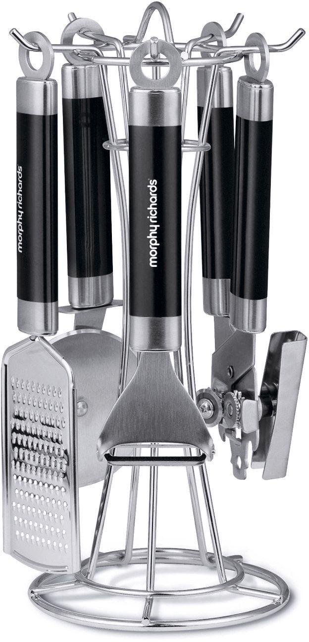 Morphy Richards Accents 4 Piece Gadget Set - Black.