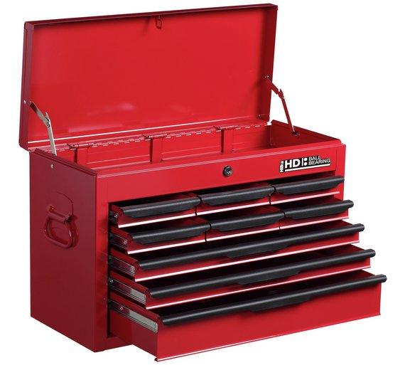 buy 9 drawer tool chest at your online shop. Black Bedroom Furniture Sets. Home Design Ideas