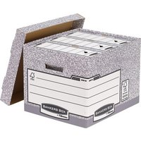 Fellowes - System Standard Document Storage Box - Grey