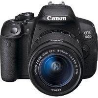 Canon - Digital SLR Camera - EOS 700D 18MP - 18-55mm IS STM Lens.