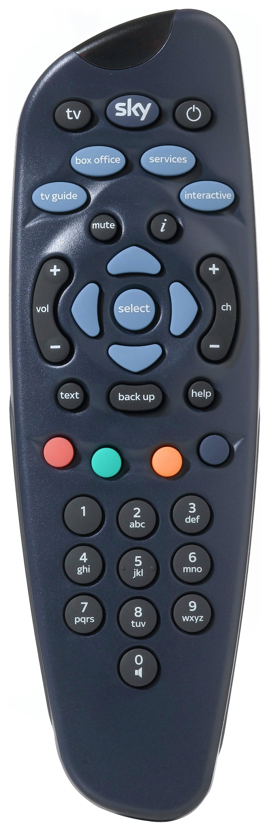 Sky Blue Remote Control