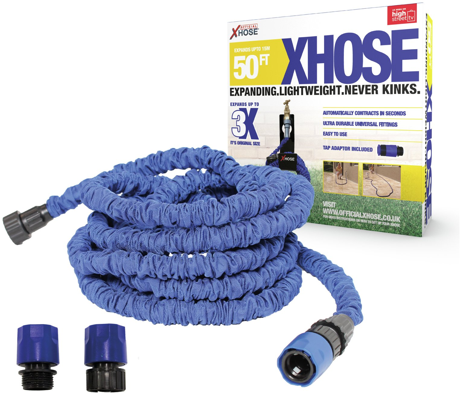 xhose expandable hose 50ft gay times. Black Bedroom Furniture Sets. Home Design Ideas